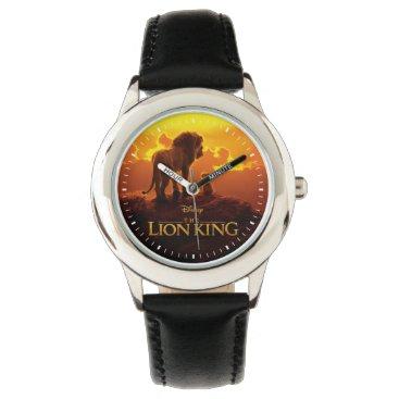 Lion King   Mufasa & Simba At Sunset Watch
