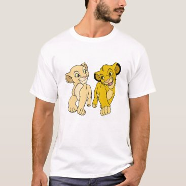 Lion King's Simba & Nala smiling Disney T-Shirt