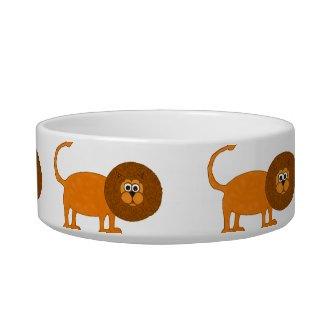Lion Pet Bowl petbowl