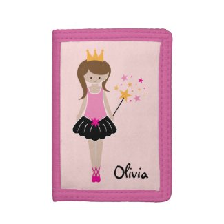 Little Ballerina Princess Wallet