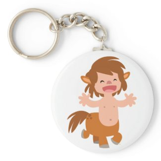 Little Cartoon Centaur Keychain keychain