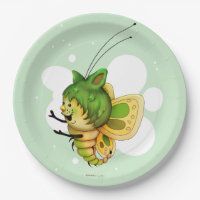 LITTLE FAIRY 2 CARTOON Paper Plates 9