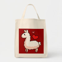 Little Llama Tote Bag