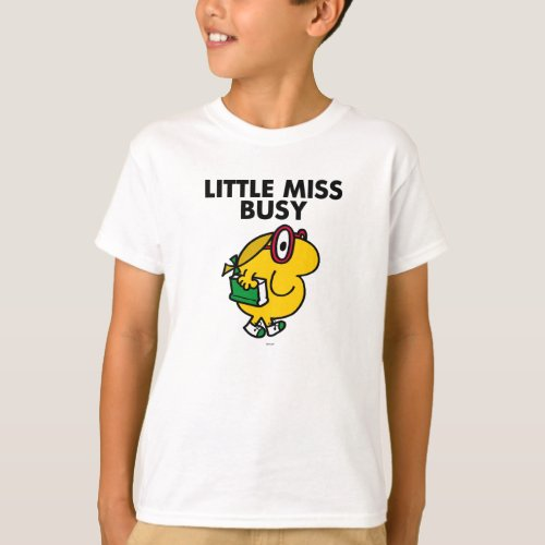 Little Miss Busy   Reading Time T-Shirt