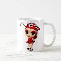 Little Miss Ladybug Coffee Mug