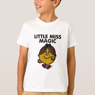 Little Miss Magic | Black Lettering T-Shirt