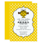 Little Miss Sunshine | Yellow Birthday Invitation