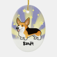 Little Star Pembroke Welsh Corgi Ornaments