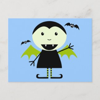 Little Vampire postcard