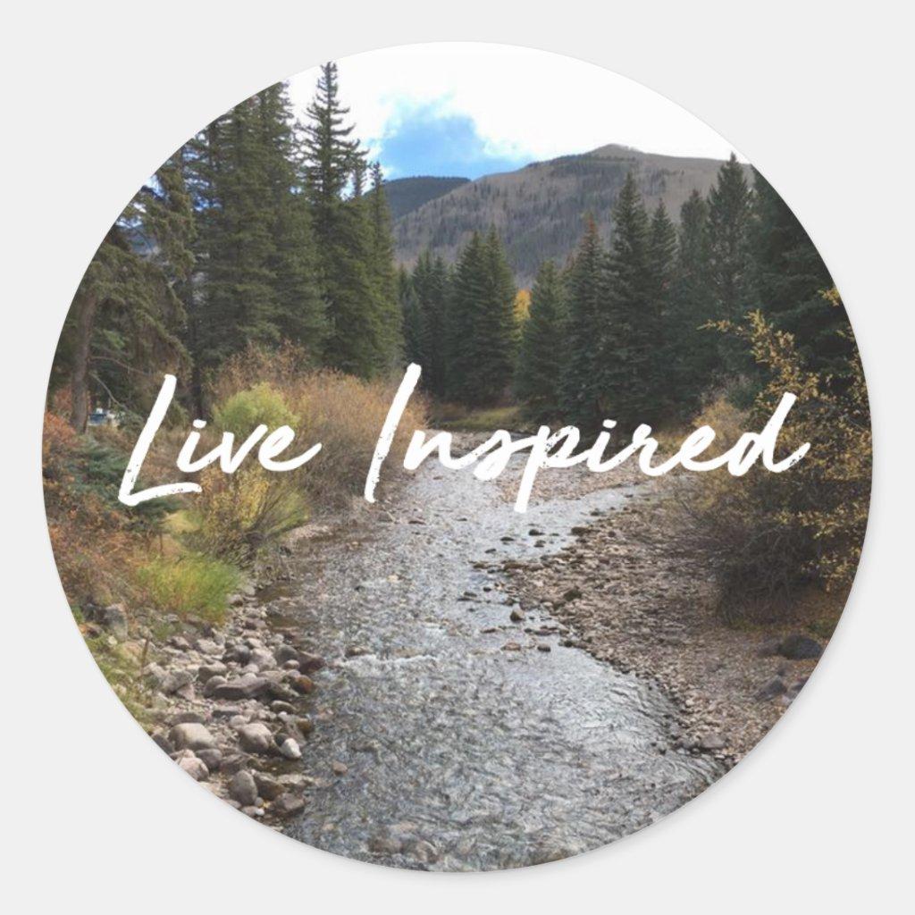 Live Inspired Sticker