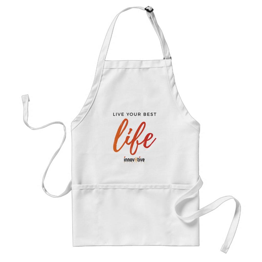 Live Your Best Life Adult Apron