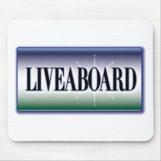 Liveaboard Mousepad
