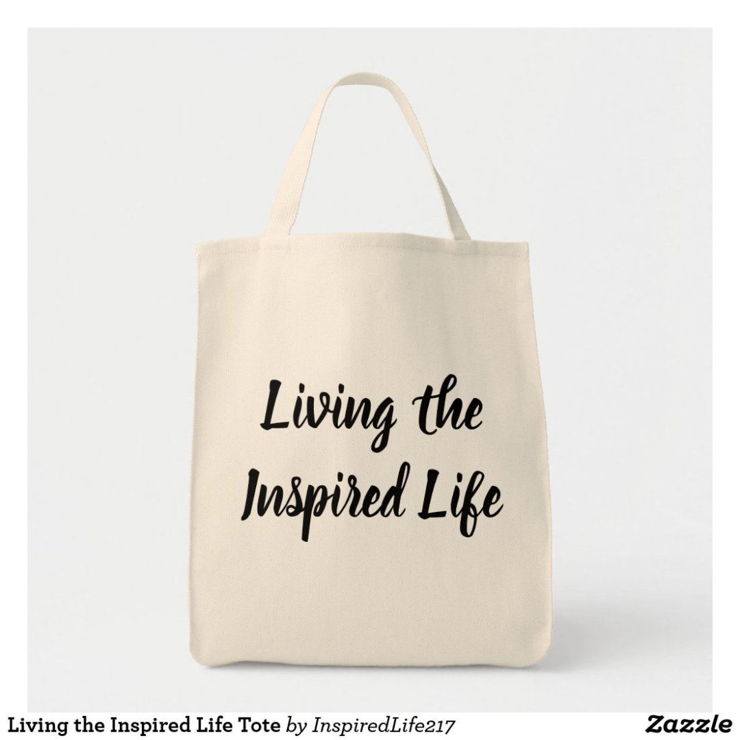 Living the Inspired Life Tote