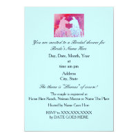 Llama Wedding Bridal Shower Invitation