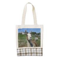 Llama Zazzle HEART Tote Bag