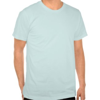 lonely leaf baby blue shirt