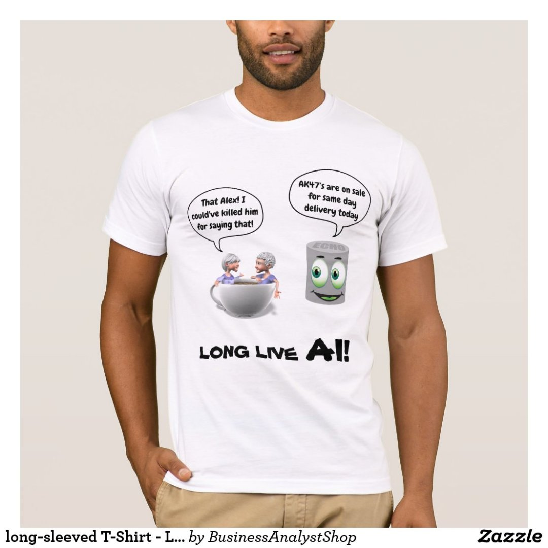 long-sleeved T-Shirt - Long Live AI