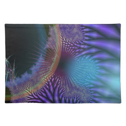 Looking Inward - Amethyst & Azure Mystery Placemat