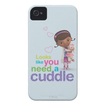 Looks Like You Need a Cuddle iPhone 4 Case-Mate Case