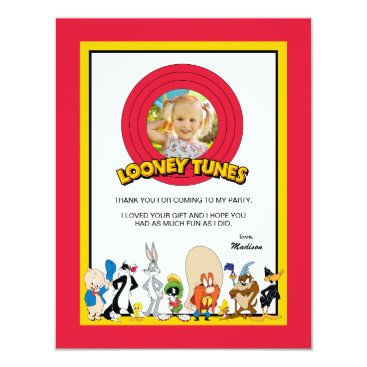 LOONEY TUNES™ Character Group | Birthday Thank You Card