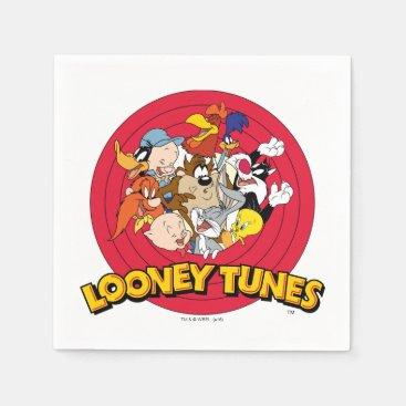 LOONEY TUNES™ Character Logo Napkin