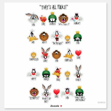 LOONEY TUNES™ Emoji Chart Sticker