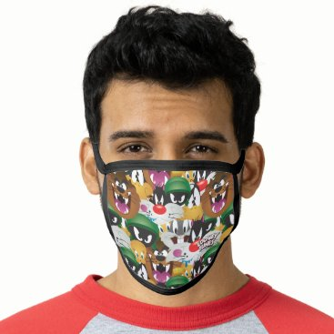 LOONEY TUNES™ Emoji Pattern Face Mask