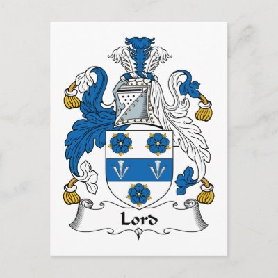 The Lord family crest