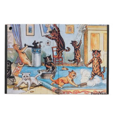Louis Wain iPad Air Case - Funny Cats