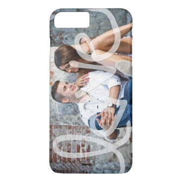 """Love"" Add your photo iPhone 8 Plus/7 Plus Case"