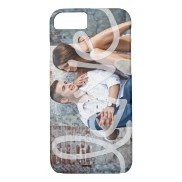 """Love"" Add your photo iPhone 8/7 Case"