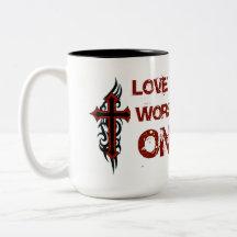 Love All Worship One Coffee Mug