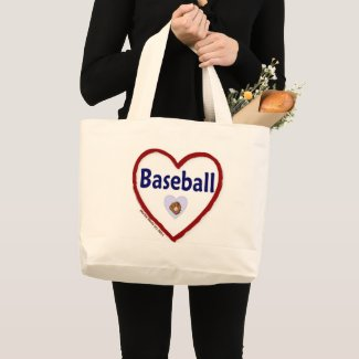 Love Baseball bag