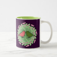 Love Birds Two-Tone Mug