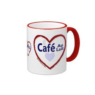 Love Café Au Lait - Ringer Mug