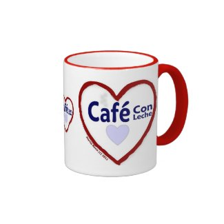 Love Café Con Leche - Ringer Mug