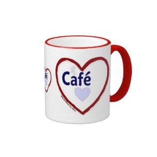 Love Café - Ringer Mug