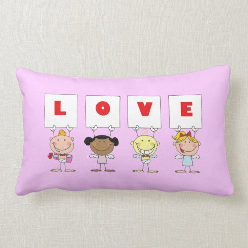 Love - Different Nationality throwpillow