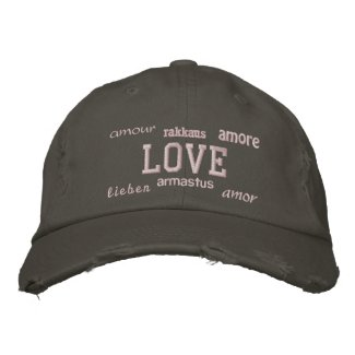 Love - Embroidered Hat