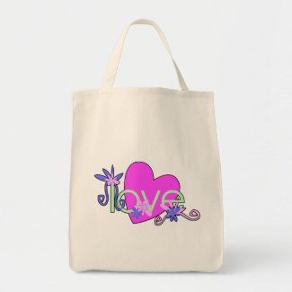 Love, Hearts and Valentines bag