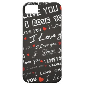 Love I Love You Phone Cases