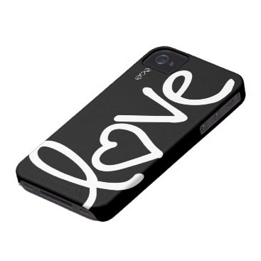 love iPhone 4 cover