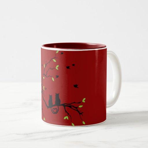 Love is Universal Two-Tone Mug