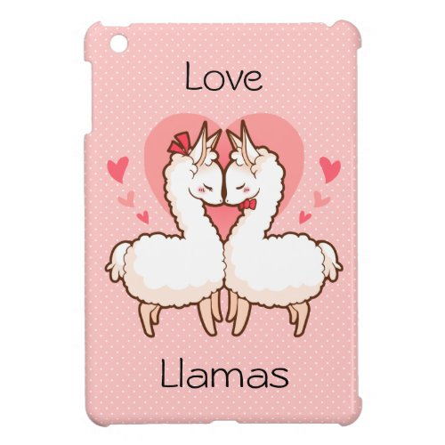 Love Llama Phone Cover Case For The iPad Mini