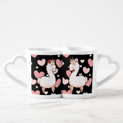 Love Llamas Coffee Mug Set