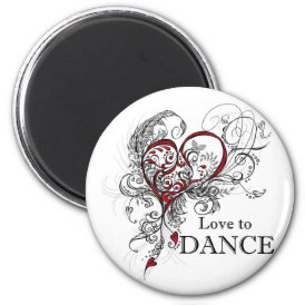 Love to Dance Magnet