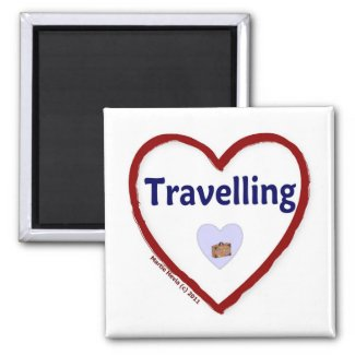 Love Travelling Magnet