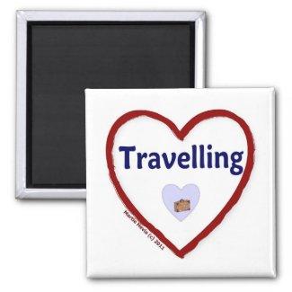 Love Travelling Magnet