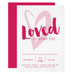 Loved Christian Valentine's Day Party Invitation