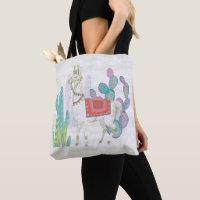 Lovely Llamas V Tote Bag